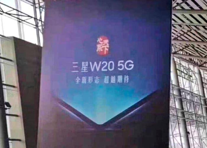 Samsung Galaxy W20 5G: así se llamará el próximo plegable de Samsung