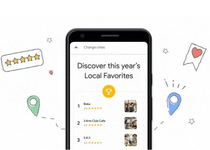 """Google Maps estrena la función """"Locales favoritos"""" ¿En qué consiste?"""