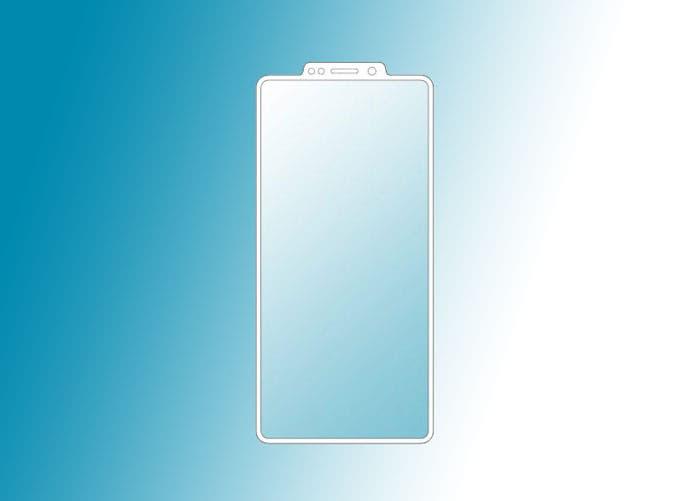 Samsung patenta un nuevo diseño con el notch más raro del mundo