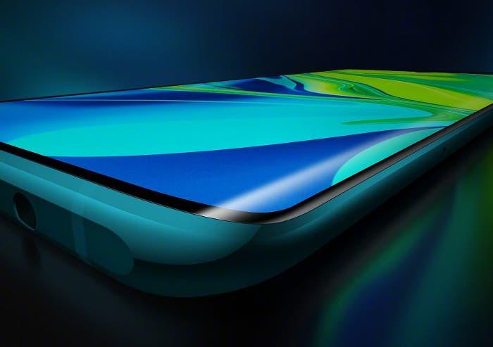 Una supuestas imagen real del Redmi K30 Pro nos muestra una pantalla curva