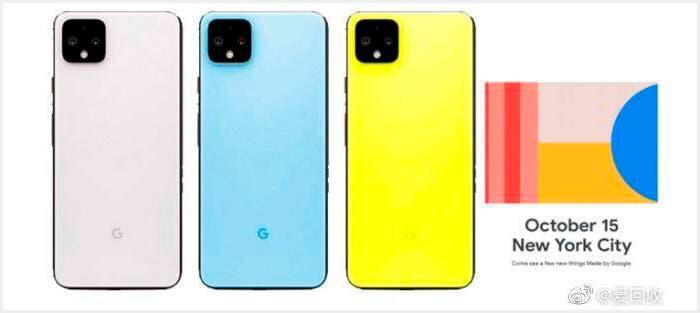Colores Google Pixel 4