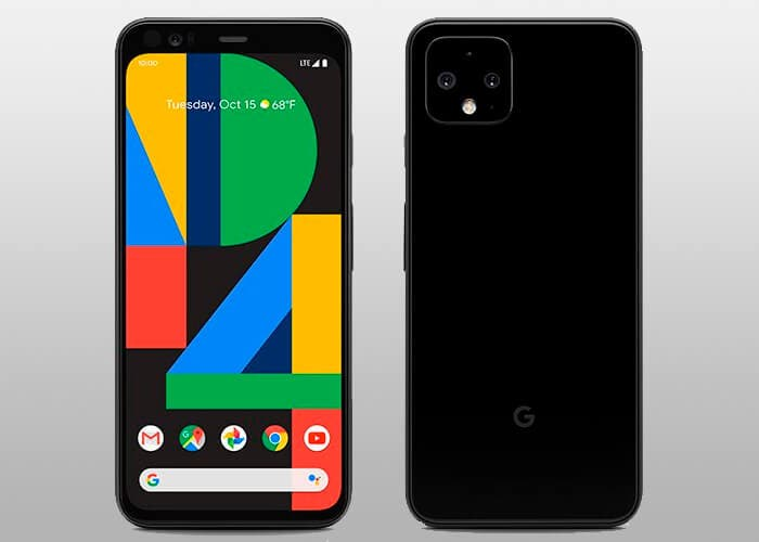 Esta es la primera imagen de prensa del Google Pixel 4