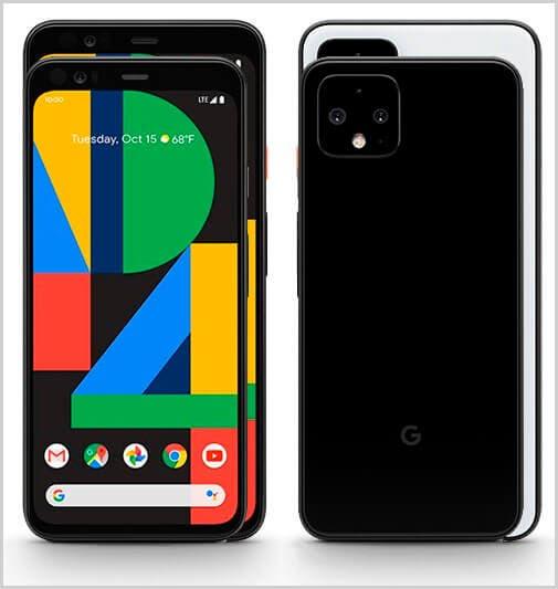 Comparativa Google Pixel 4 XL