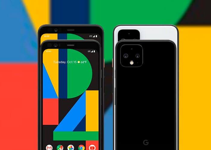 Google Pixel 4 XL tamaño