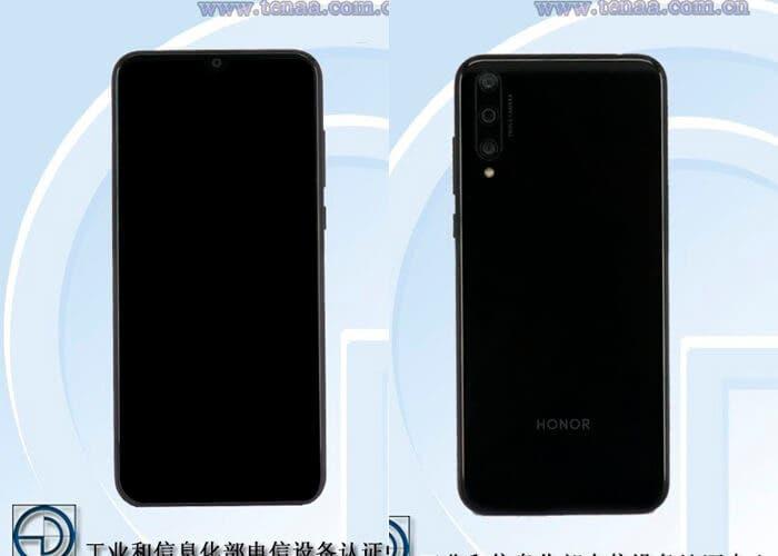 El Honor 20 SE pasa por TENAA mostrando diseño y características