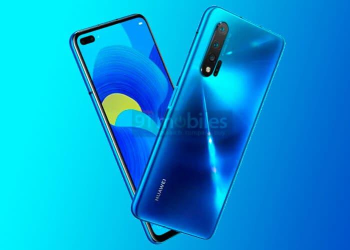 Huawei Nova 6 5G: el primer gama media 5G de Huawei se filtra en imágenes