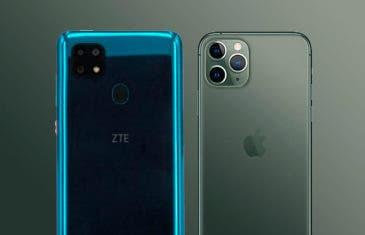ZTE Blade 20: llegan las primeras copias del iPhone 11 Pro
