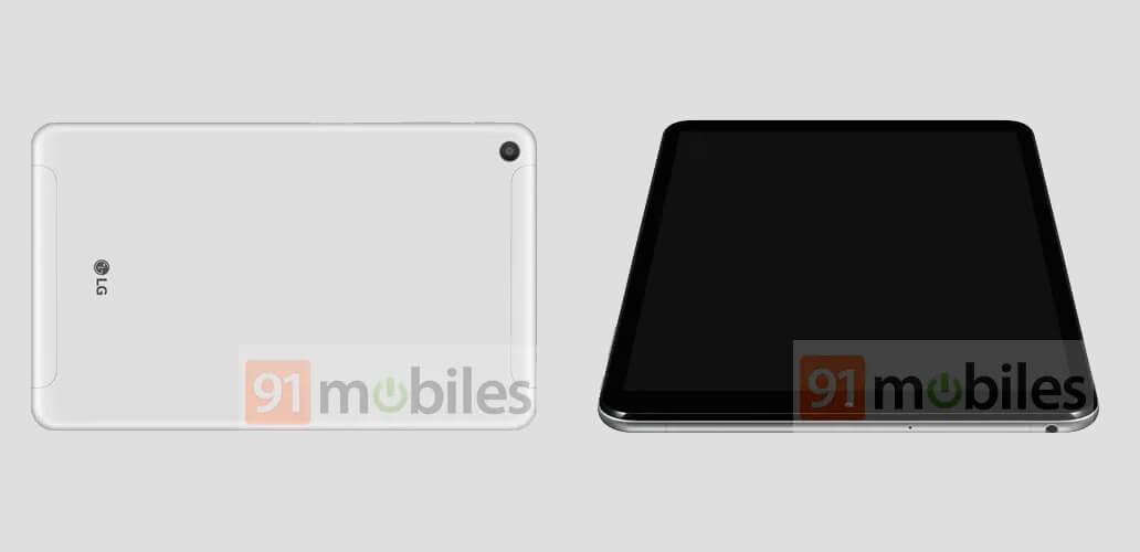 tablet LG filtrada