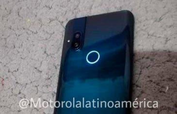 Así será el diseño del Motorola con cámara emergente