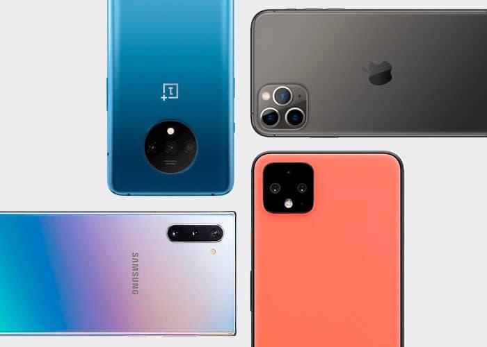 El Pixel 4 contra sus rivales: iPhone 11 Pro, OnePlus 7T y Samsung Galaxy Note 10