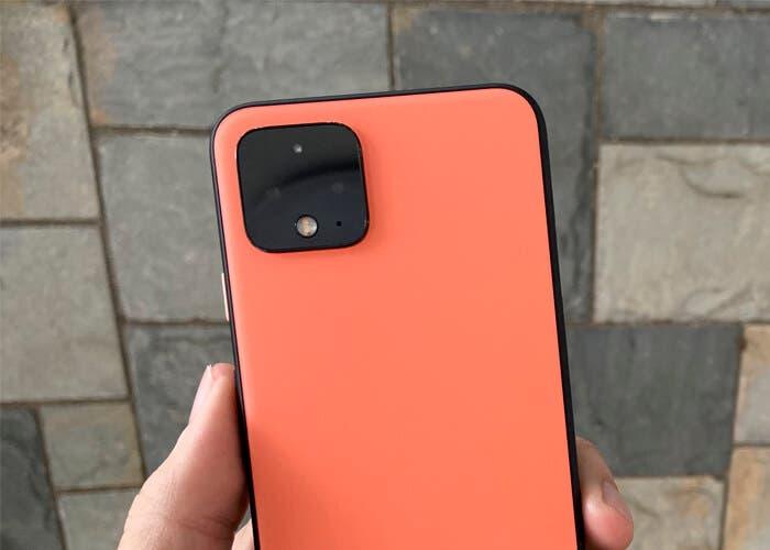 Google Pixel 4 naranja