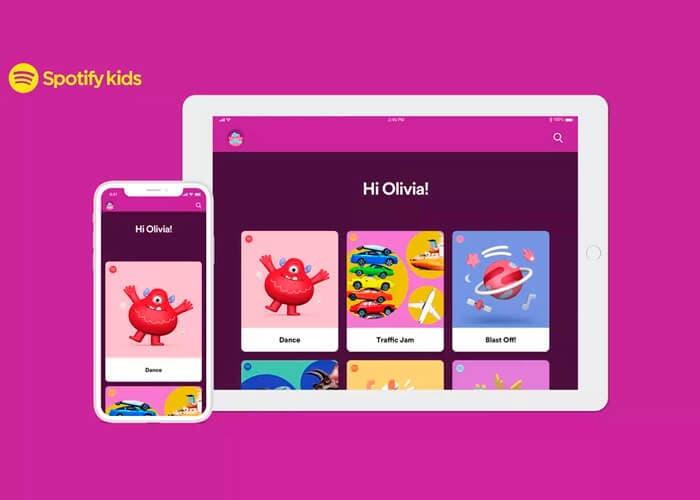 Así es Spotify Kids, la primera app de streaming de música para niños