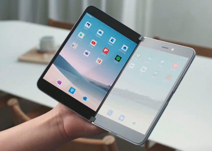 Microsoft vuelve al mercado de los teléfonos con el Surface Duo ¡Con Android y plegable!