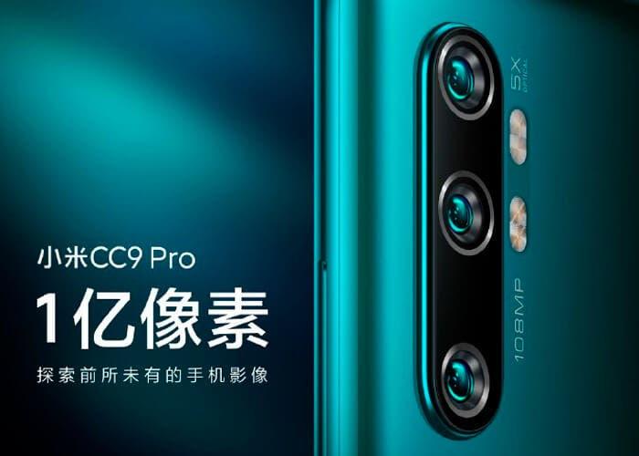 El Xiaomi CC9 Pro llegará con pantalla curva y 6 GB de memoria RAM