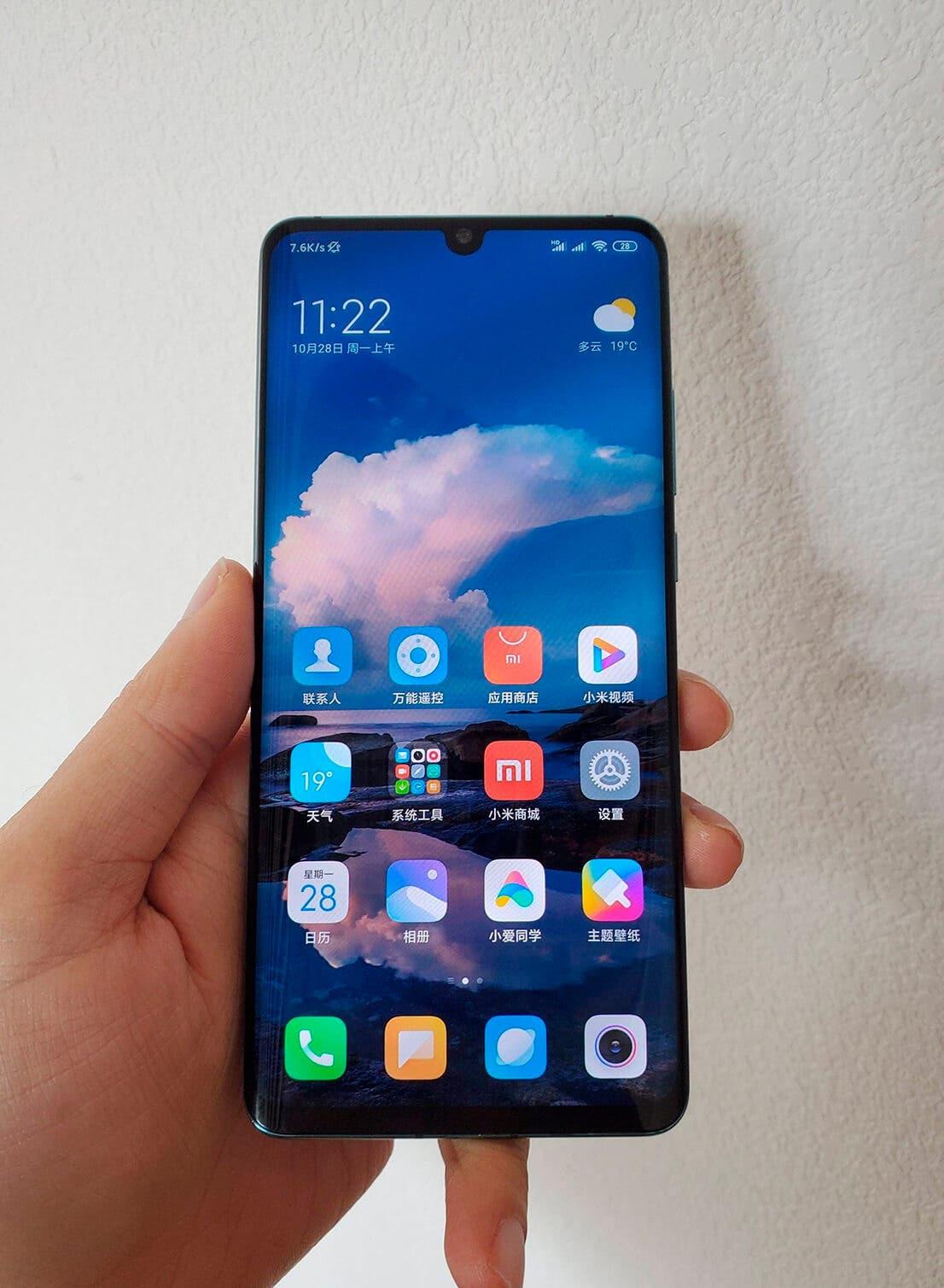 Xiaomi CC9 Pro real