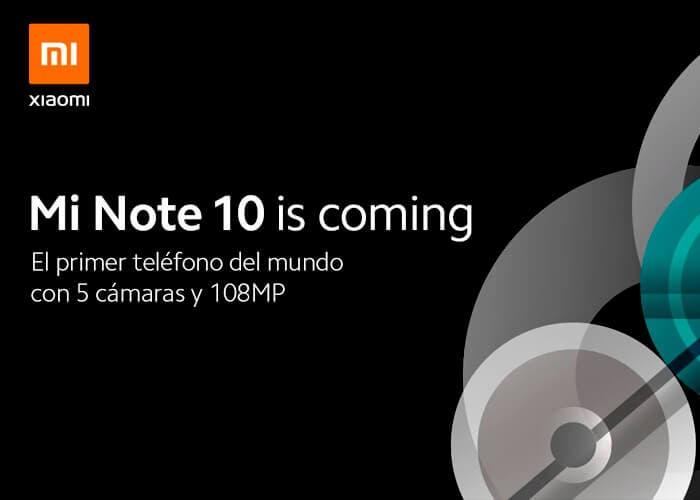 Xiaomi Mi Note 10: así se llamará el Xiaomi CC9 Pro en su llegada a España