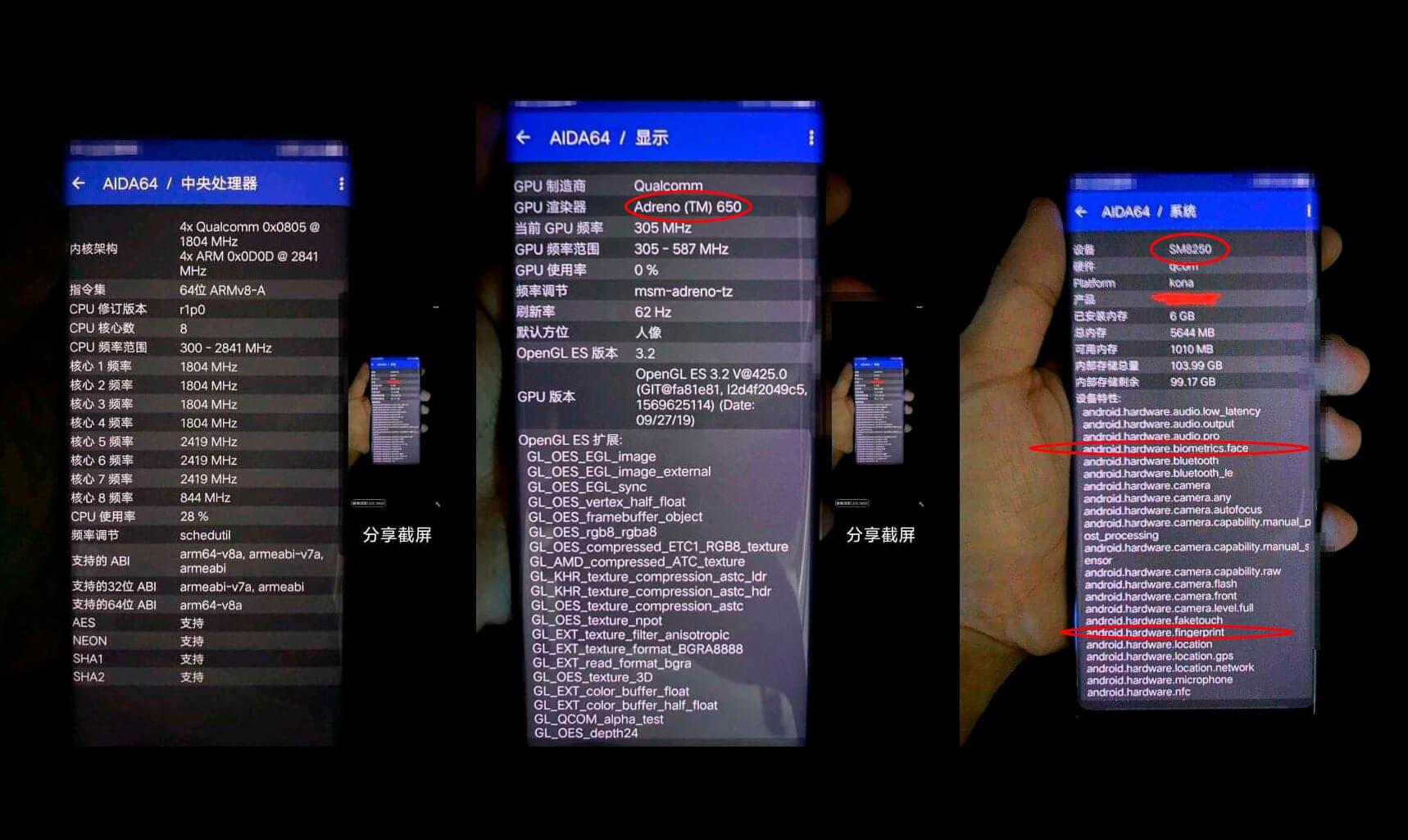 Pantalla Xiaomi Mi Note 10