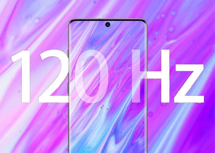 Los 120 Hz del Galaxy S20 no funcionarán siempre, solo con la resolución FullHD