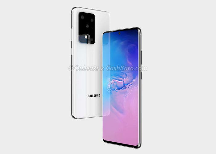 Samsung Galaxy S11+ y su extraño diseño: cinco cámaras y un módulo gigante