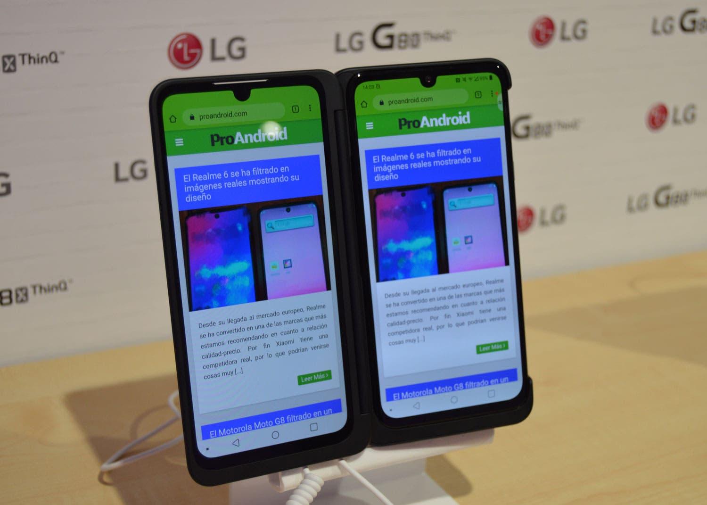 El LG G8X ThinQ llega a España: precio y disponibilidad