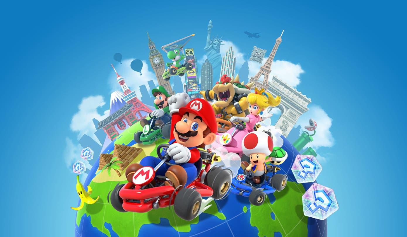 Ya disponible el multijugador en Mario Kart Tour para Android