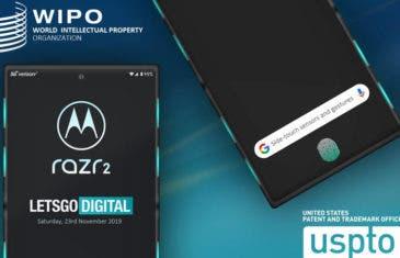 Así podría ser el Motorola Razr 2: lector de huellas en pantalla y muchos sensores