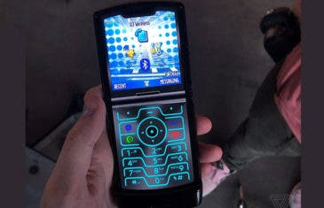 El Motorola Razr tiene un modo oculto con aspecto retro
