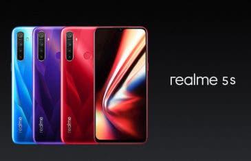 El Realme 5s es oficial: una versión con mejor cámara del Realme 5