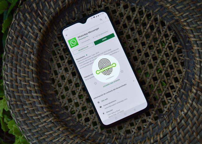 WhatsApp para Android lanza el desbloqueo con huella dactilar