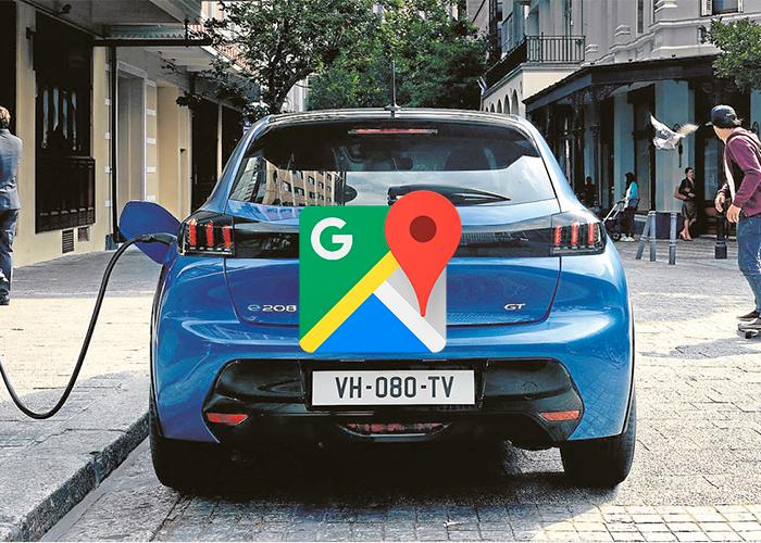 Google Maps se prepara para poder pagar la carga de vehículos eléctricos