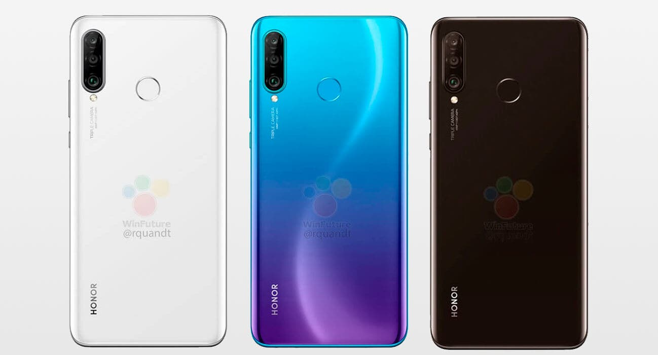 Honor 20S europeo colores