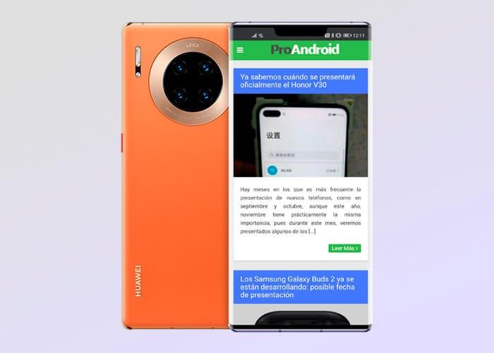 El Huawei Mate 30 Pro ya se puede reservar en España y llega con un cheque de 299 euros