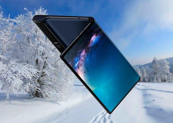 El Huawei Mate X no puede usarse si hace mucho frío
