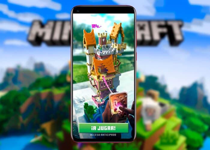 Ya puedes descargar Minecraft Earth en Play Store: da rienda suelta a tu imaginación