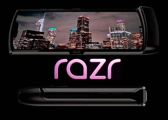 Ya conocemos el diseño completo del Motorola Razr plegable