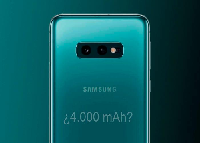 La batería del Samsung Galaxy S11e podría llegar casi a los 4.000 mAh