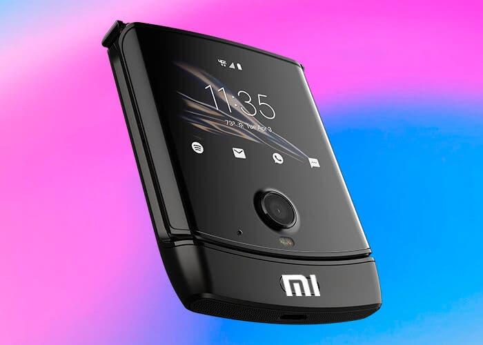Xiaomi va a por Motorola: patenta un teléfono plegable como el razr
