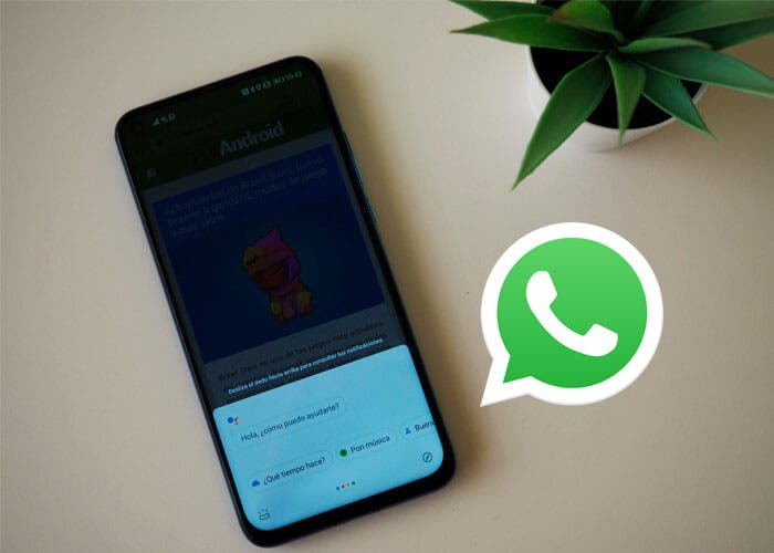 Así puedes enviar mensajes de WhatsApp con Google Assistant