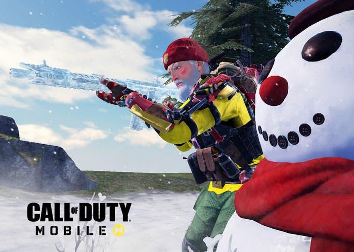 Call of Duty: Mobile añade nuevos modos: ¡pelea de bolas de nieve!