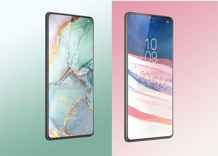 Los Samsung Galaxy S10 Lite y Note 10 Lite aparecen en nuevos renders