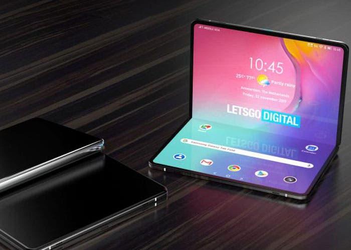 Samsung ya estaría trabajando en su nueva tablet plegable
