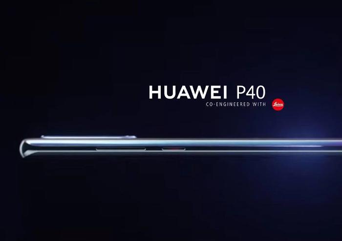 Así es el Huawei P40, filtrado su diseño en imágenes de prensa