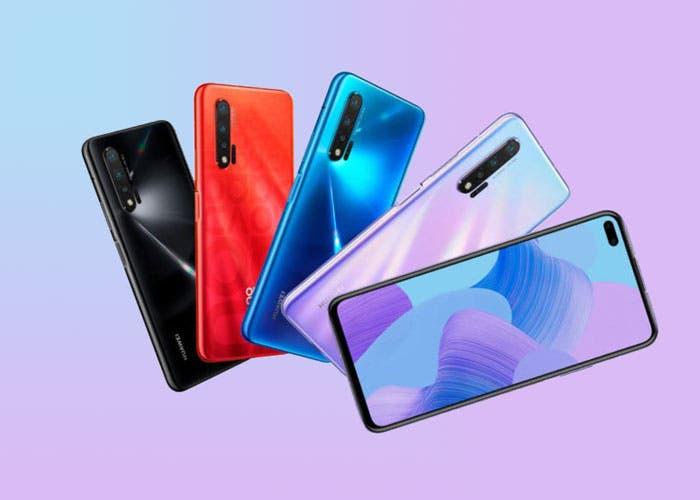 Los Huawei Nova 6, Nova 6 5G y Nova 6 SE ya son oficiales: todos los detalles