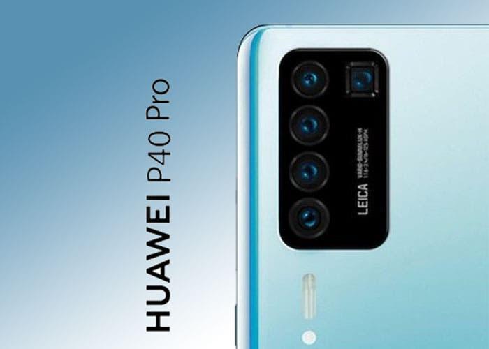 El Huawei P40 Pro llegaría con cinco cámaras traseras