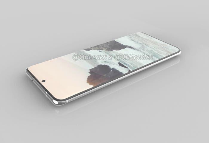 Así serán los ínfimos biseles de los Samsung Galaxy S11: imagen real de sus protectores de pantalla