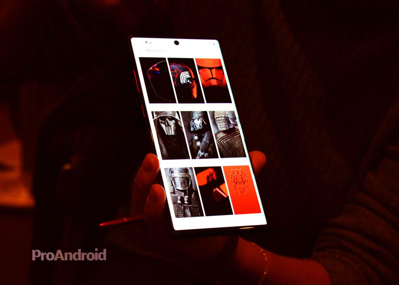 Samsung Galaxy Note 10+ Star Wars Edition: primeras impresiones de un móvil con mucha fuerza