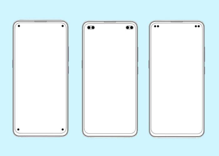 Vivo prepara un nuevo móvil…¡con cuatro agujeros en pantalla!