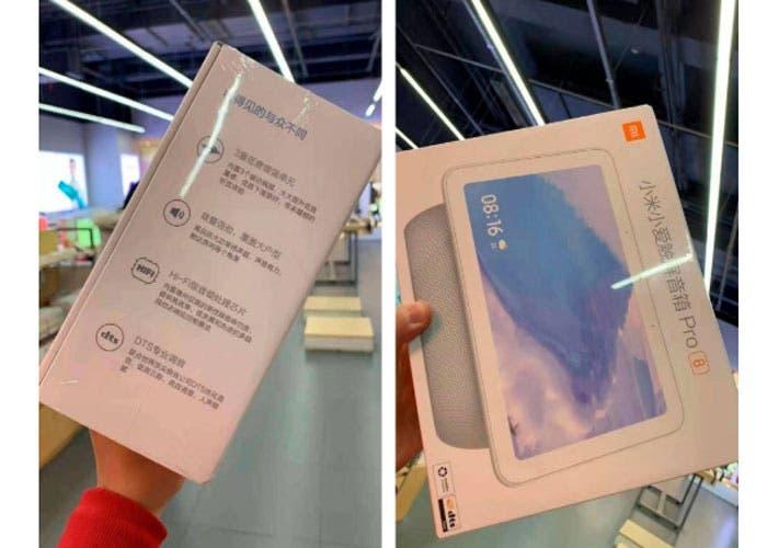 Xiaomi se prepara para lanzar su primer altavoz inteligente con pantalla