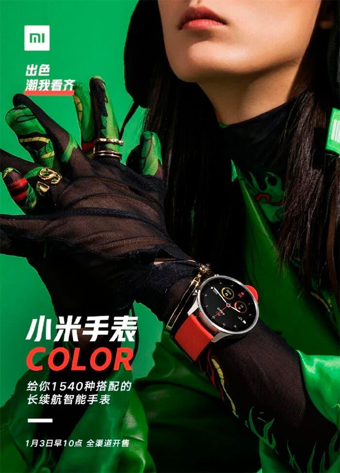 Xiaomi Watch Color anuncio