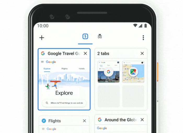 Google Chrome ya prueba una nueva forma de mostrar las pestañas abiertas